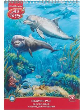 """Альбом для рисования """"Дельфин"""" 20..."""