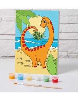 """Роспись по номерам """"Динозаврик""""..."""