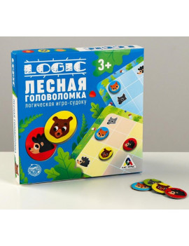Логическая игра-судоку «Лесная...