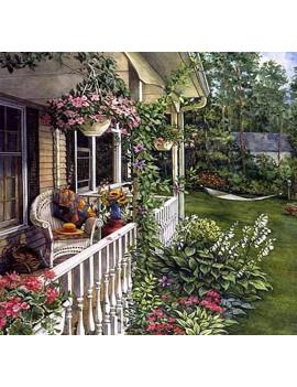 Алмазная мозаика «Летний сад»...