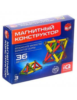 Магнитный конструктор, 36 деталей