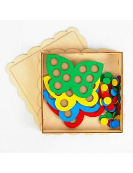 Мозаика «Бабочки», 4 бабочки, 40...