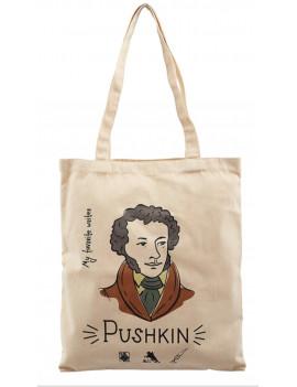 Сумка My favorite writer Пушкин,...