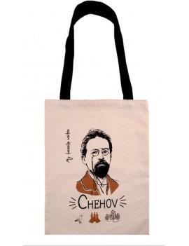 Сумка My favorite writer Чехов,...