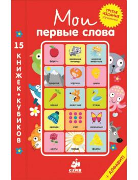 Мои первые слова. 15 книжек-кубиков