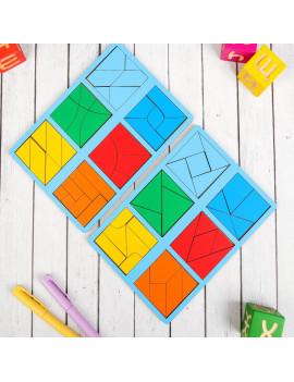 «Сложи квадрат» Б.П. Никитин, 3...
