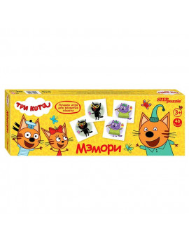 Карточная игра «Три кота»