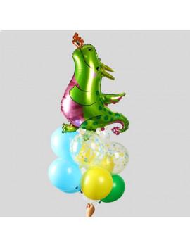 """Букет из шаров """"Праздник Дракоши""""..."""